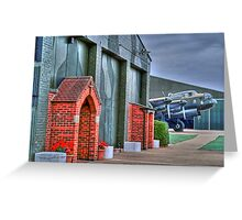 The Chapel RAF East Kirkby - HDR Greeting Card