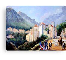 Óleo sobre tela - Oil on canvas - Huile sur toile Canvas Print
