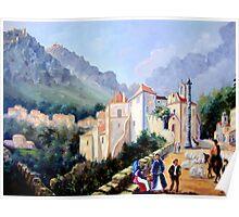 Óleo sobre tela - Oil on canvas - Huile sur toile Poster