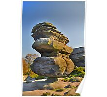 Yorkshire: Brimham Rocks, The Idol Poster
