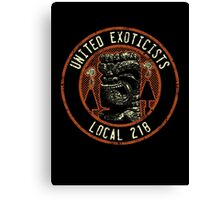 United Exoticists Canvas Print