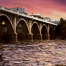 Fishing Under The Bridge by Larry Oates