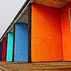 Bexhill Huts by Paul Morris