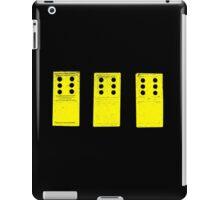 666 Dominos - Yellow iPad Case/Skin