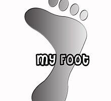 my foot ! by Sajeev Chandrasekhara Pillai