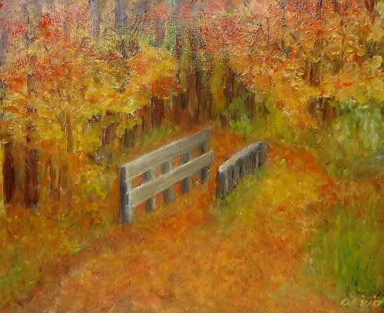 Autum forest by olivia-art