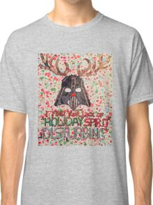 Christmas Star Wars Collage Classic T-Shirt