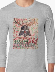 Christmas Star Wars Collage Long Sleeve T-Shirt