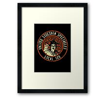 United Sideshow Spectacles Framed Print