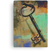 """Old-Fashioned Key"" Digital Art Print Canvas Print"