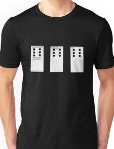 666 Dominos - White Unisex T-Shirt