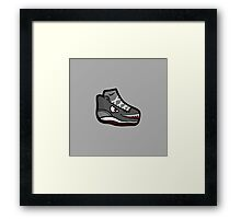 Shoe Monster Framed Print