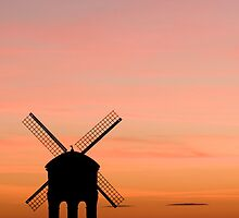 Chesterton Windmill by Anne Gilbert