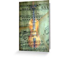 A masterpiece © Allegro molto e con brio Greeting Card