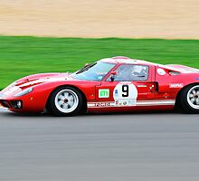 Ford GT40 No 9 by Willie Jackson