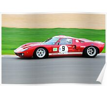 Ford GT40 No 9 Poster