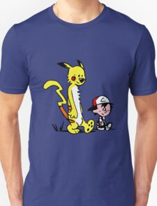 Calvin & Hobbes Pokemon T-Shirt
