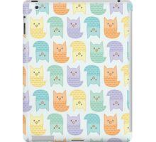 Topsy-Turvy Pastel Owls iPad Case/Skin