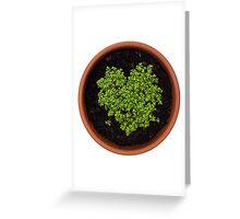 I Love Cress Greeting Card