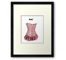 The Invisible Lady Framed Print