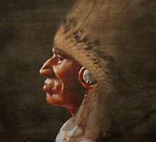 Old chief iphone case by Dawnsky2