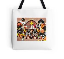Pittsburgh Steelers Hall of Fame Offensive Legends Tote Bag