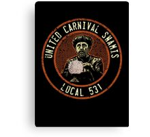 United Carnival Swamis Canvas Print