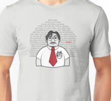 Milton's Monologue  Unisex T-Shirt