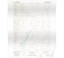 USGS Topo Map Oregon Colony Ranch 279409 1981 24000 Poster