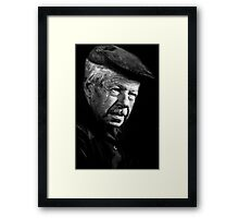 Mr B Framed Print