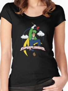 Superplumber Women's Fitted Scoop T-Shirt