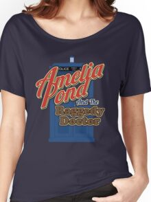 Amelia Pond and the Raggedy Doctor Women's Relaxed Fit T-Shirt