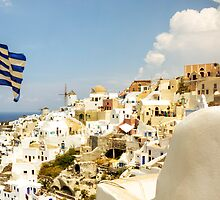 Oia Village by Paul Thompson Photography