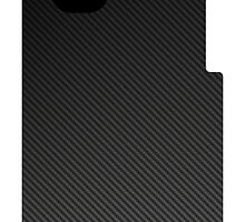 Carbon Fiber iPhone Case - version 2 by kalitarios