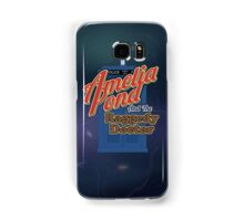 Amelia Pond and the Raggedy Doctor Samsung Galaxy Case/Skin