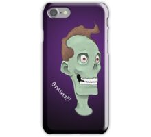Zombie Brains- Purple iPhone Case/Skin