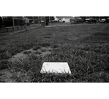 Lonely Base Photographic Print