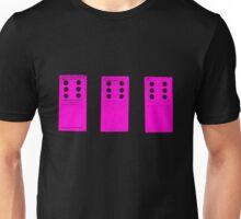 666 Dominos - Pink Unisex T-Shirt