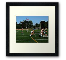 100511 128 0 field hockey Framed Print