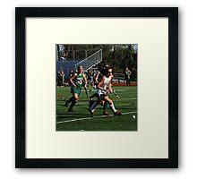 100511 140 0 field hockey Framed Print