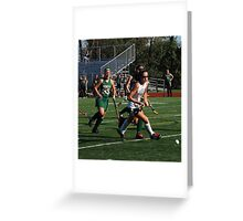 100511 140 0 field hockey Greeting Card