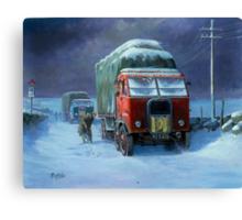 BRS Scammell R8 Canvas Print