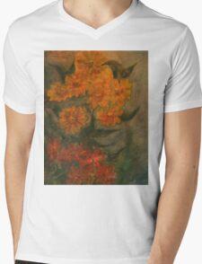 Flowers 5 Mens V-Neck T-Shirt