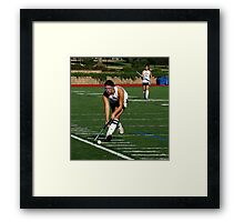 100511 143 0 field hockey Framed Print