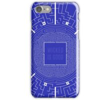 The Maze Runner Blueprints iPhone Case/Skin