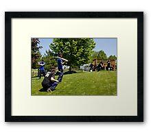 Baseball Game Framed Print