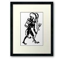 Krampus 008 Framed Print