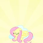 Fluttershy Hush Now Iphone Case by carnivean