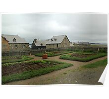 Fortress at Louisbourg Poster