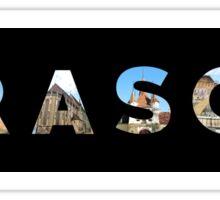 brasov text Sticker